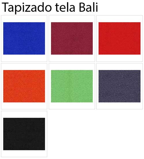 Silla Visa tapizada en tela o polipiel detalle 5