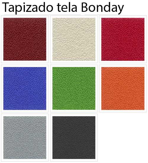 Silla Visa tapizada en tela o polipiel detalle 6