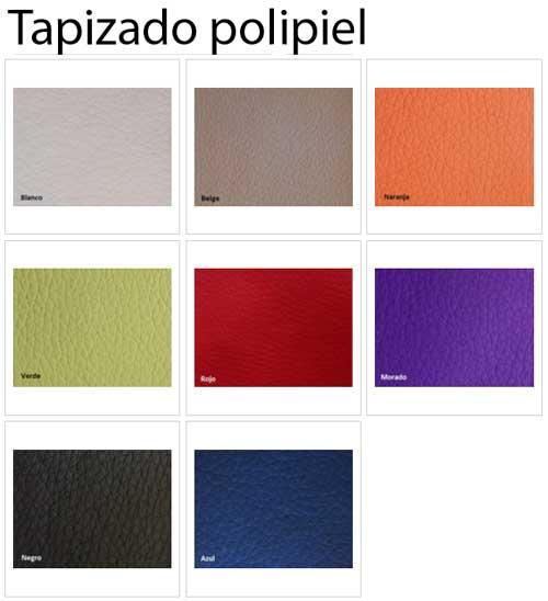 Silla Visa tapizada en tela o polipiel detalle 7