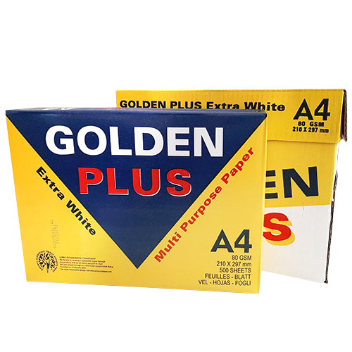 Papel Golden Plus A4 80 gr Extra Blanco detalle 2