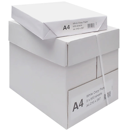 Papel anónimo A4 80 gr paquete 500 hojas