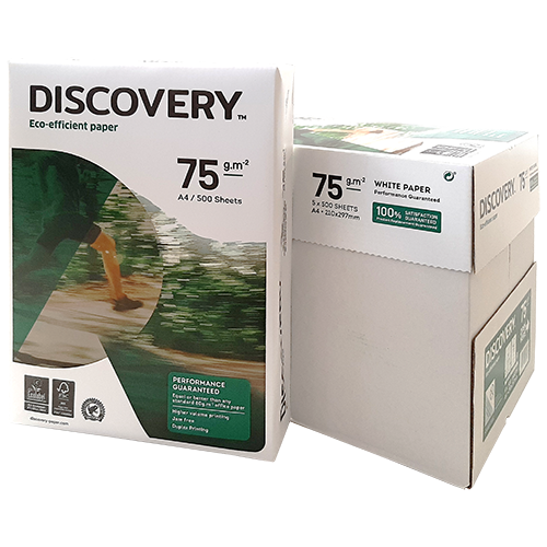 Papel A4 Discovery 75 gr
