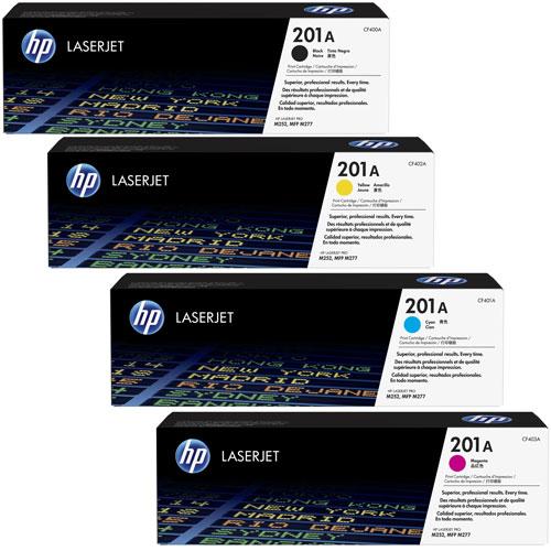 Tóner HP 201A 4 Colores detalle 2