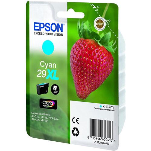 Cartuchos EPSON Inkjet 29XL (fresa) detalle 1