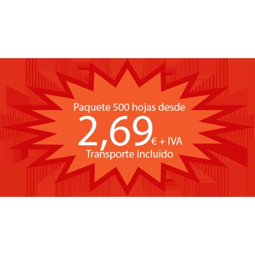 Papel Reciclado ISO 80 gr detalle 1