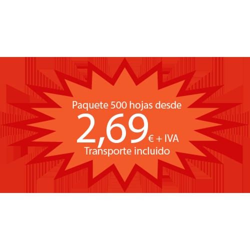 Papel Reciclado ISO 80 gr detalle 3