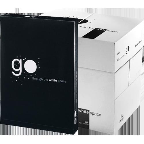 Papel A4 GO 80 gr 50 paquetes