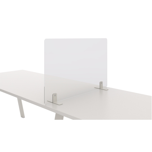 Mampara cristal templado separadora mesa
