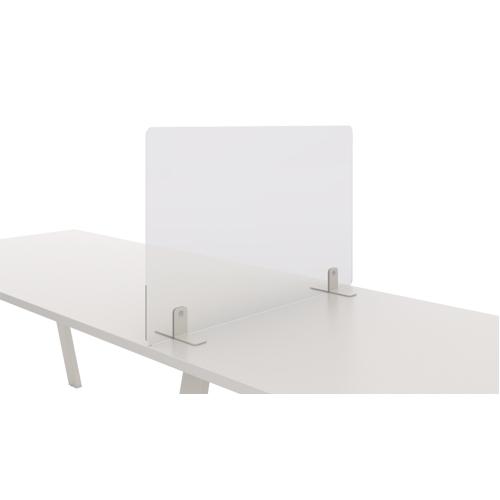 Mampara metacrilato separadora mesa