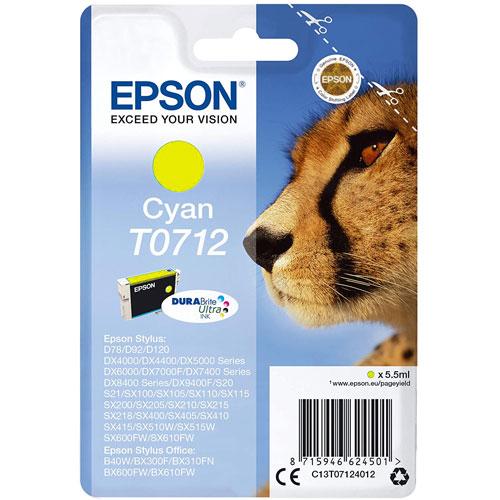 Cartuchos EPSON Inkjet T071 (guepardo) detalle 3