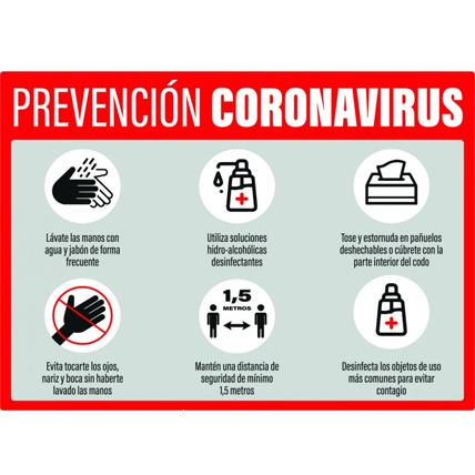 Señalética prevención