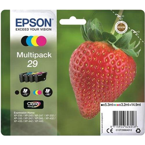 Cartuchos EPSON Inkjet 29 (fresa)