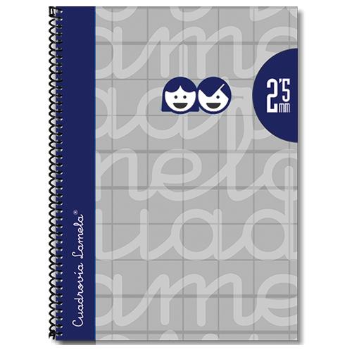 Cuaderno tapa extradura 4º 80 hojas 2,5 mm detalle 1