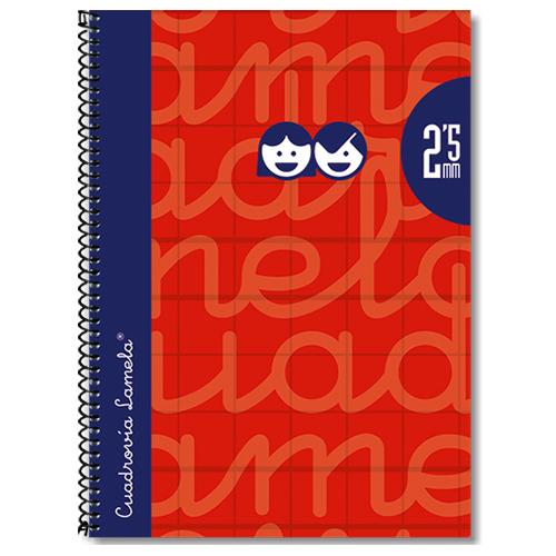 Cuaderno tapa extradura 4º 80 hojas 2,5 mm detalle 3