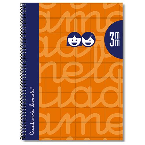 Cuaderno tapa extradura 4º 80 hojas 3 mm detalle 2