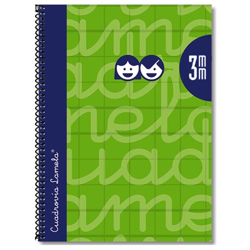 Cuaderno tapa extradura 4º 80 hojas 3 mm detalle 4