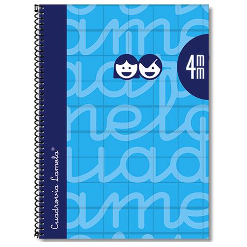 Cuaderno tapa extradura 4º 80 hojas 4 mm