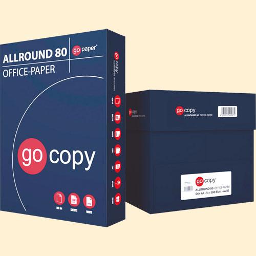Papel A4 Copy+ 80 gr