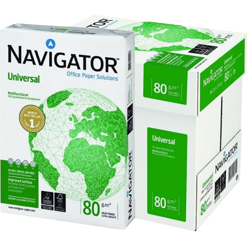 Papel A4 Navigator 80 gr detalle 2