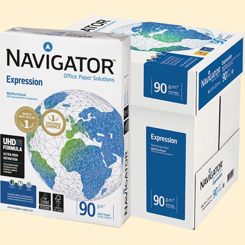 Papel A4 Navigator 90 gr