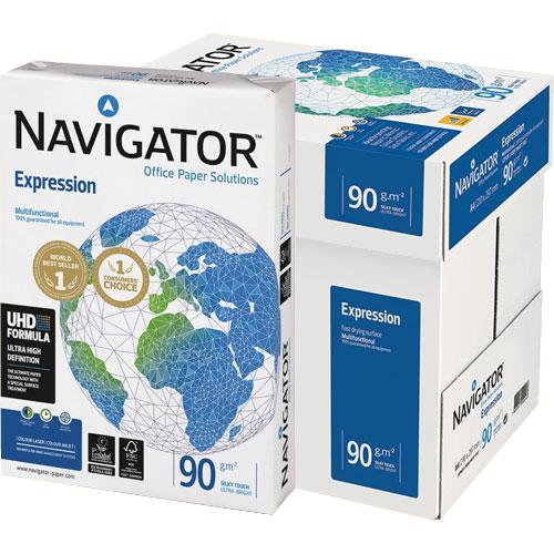 Papel A4 Navigator 90 gr detalle 2