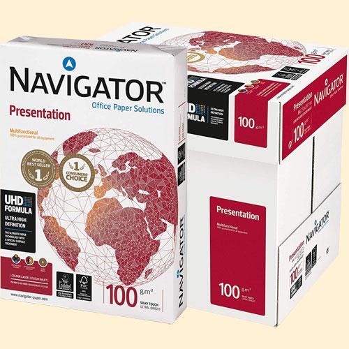 PAPEL A4 navigator 100 GR