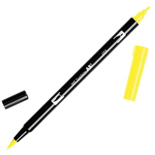 Rotulador doble punta tombow amarillos