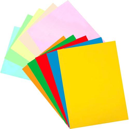 Papel A4 colores surtidos 100 h