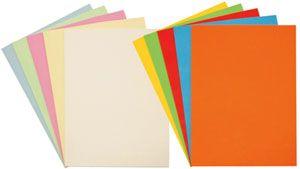 Packs cartulinas colores surtidos