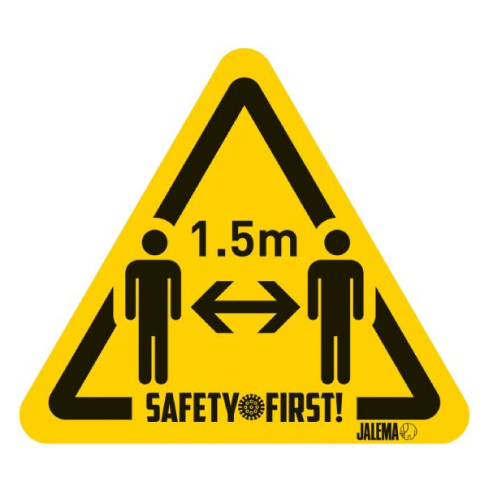 Etiqueta advertencia 15 x 17 cm
