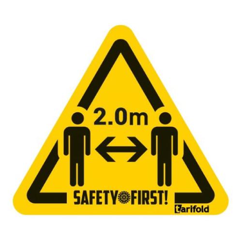 Etiqueta advertencia 15 x 17 cm detalle 1