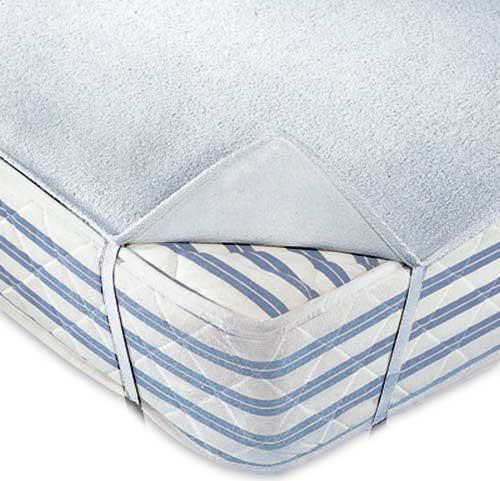 Protector de colchón cuna