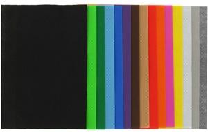 Gama de colores tejido