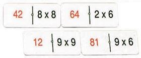 Dominó de multiplicación