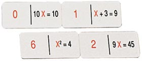 Dominó algebra 1