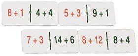 Doblñe dominó sumas y restas equivalentes