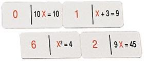 Doble dominó algebra 1 + algebra 2