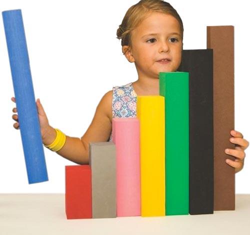 Regletas matemáticas soft 29 piezas