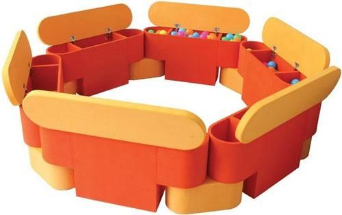 Piscina modular soft cajones detalle 2