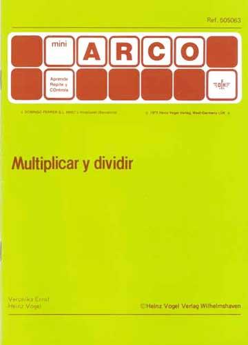 MiniARCO Multiplicar y dividir