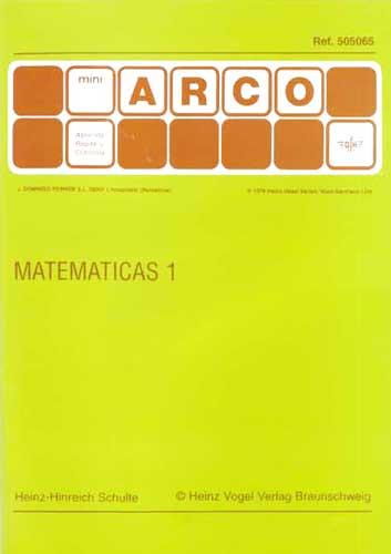 MiniARCO Matemáticas 1