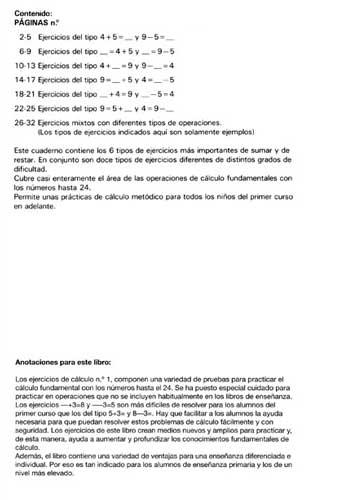 ARCO Ejercicios de cálculo 1 Indice
