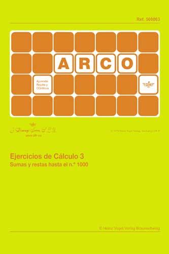 ARCO Ejercicios de cálculo 3