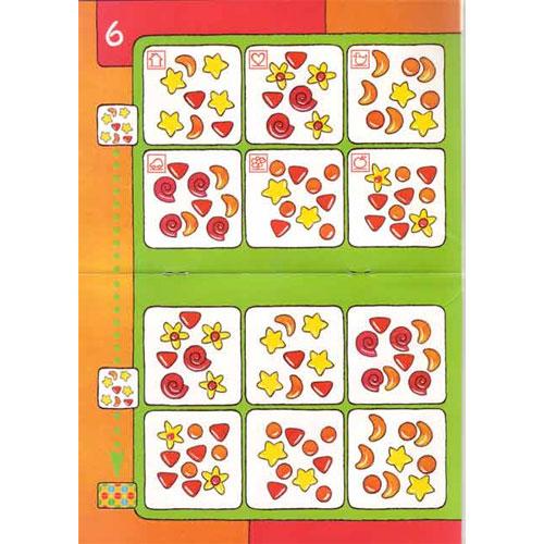 BAMBINO Observa, juegos de colores detalle 1