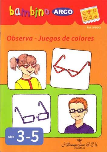 BAMBINO Observa, juegos de colores