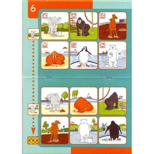 BAMBINO Animales en el zoo detalle 1