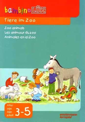 BAMBINO Animales en el zoo