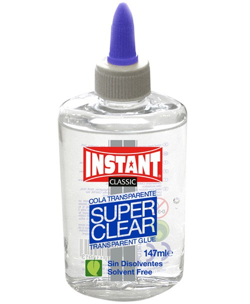 Cola transparente superclear 147 ml