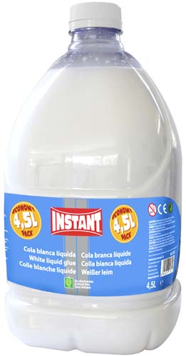 Cola blanca líquida 4,5 litros