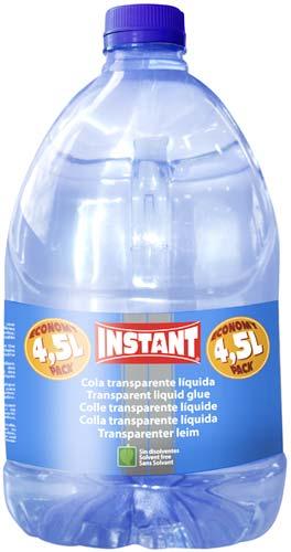 Cola transparente líquida 4,5 litros